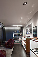 SAVILLE ROW, SHOE SHOP, LONDON, ENGLAND, UK