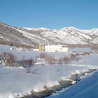 McPolin Barn in winter