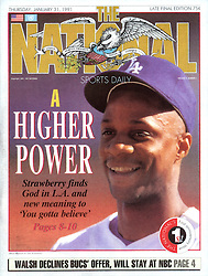 Darryl Strawberry, The National Sports Daily, 1991