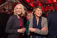 11 FEB 2017, BERLIN/GERMANY:<br /> Manuela Schwesig (L), SPD, Bundesfamilienministerin, Elke Buedenbender (R), Ehefrau von Frank-Walter Steinmeier, waehrend einem Empfang der SPD anl. der Bundesversammlung, Westhafen Event und Convention Center<br />  IMAGE: 20170211-03-003<br /> KEYWORDS: Elke B&uuml;denbender