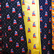 Ties on sale at the Republican presidential debate in Orlando, Florida, October 21, 2007...