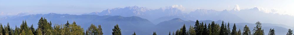 Panorama of Dobratsch