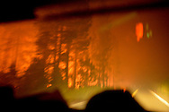 The King Fire burns in the El Dorado National Forest September 14th, 2014. The King Fire burned 40,000-50,000 acres in one day, a record amount of forest burned in a one-day period.