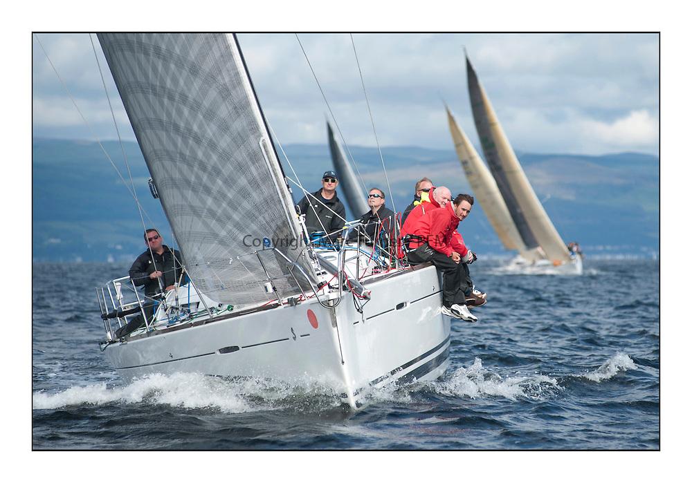 Largs Regatta Week - August 2012.Round the Island Race..GBR8140C, Zephyr, Steve Cowie ,