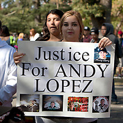 2014 - Justice for Andy Lopez Cruz