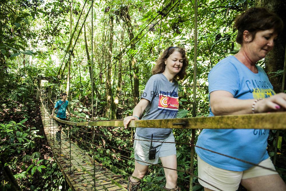 Volunteers of Finca Bellavista during their daily activities