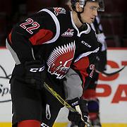 Noah Gregor (22)  Moose Jaw Warriors