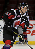 Noah Gregor (22)  Moose Jaw Warriors