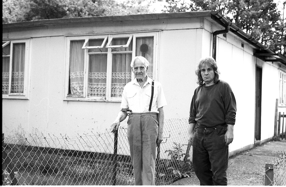 Peckham, South London, is where my prefabs journey starts. Well, my London one. I read an article about home parks in the Big Issue and wanted to go and photograph one. 'Why do people live in mobile homes, caravans, prefabs?' is a question I have always asked myself.<br />