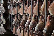 01/12/14 - AURILLAC - CANTAL - FRANCE - Entreprise Cantal Salaisons. Sechoir a jambon - Photo Jerome CHABANNE