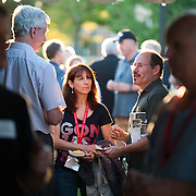 Orientation Welcome BBQ for Parents and Families of new students.<br /> <br /> Photo by Rajah Bose