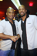 l to r: Marc Perry and Common at Common's Start the Show n' Bowl benefiting The Common Ground Foundation held at Hotel Sax on September 26, 2008 in Chicago, IL
