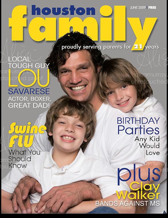 Houston Family Cover June 2009  Lou Savarese