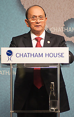 JULY 15 2013 President of Myanmar speaks at Chatham House in London