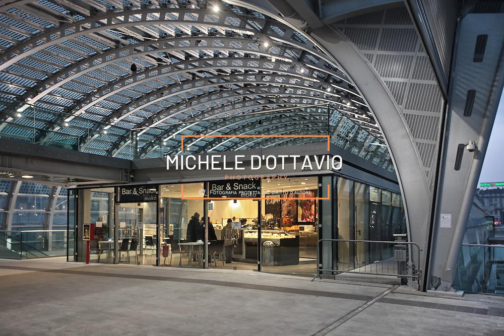 la nuova stazione di Porta Susa a Torino