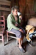 Woman in Vista Alegre near Unas, Holguin, Cuba.