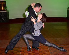OCT 05 2013 Strictly professionals Vincent Simone & Flavia Cacace host ball