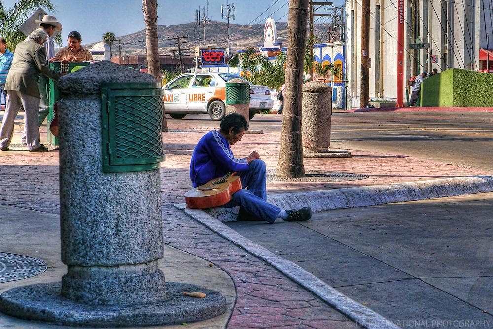 Guitar Player, Tijuana, Mexico