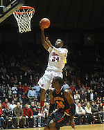 Ole Miss'  Terrico White (24) vs. Auburn's Tay Waller (24) in Oxford, Miss. on Wednesday, February 24, 2010. Ole Miss won 85-75, giving coach Andy Kennedy his 100th win as a head coach.