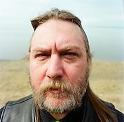 ANCHORAGE, ALASKA - MAY 2013: James Koenig, father of Samatha Koenig. Photographed at Point Woronzof a favorite place of Samathas.