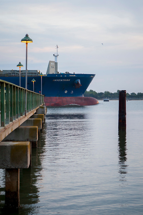 Tanker Vessel - Photographed for Savannah Magazine