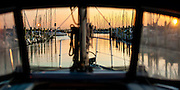 Early morning departure from Westhaven Marina, Auckland, New Zealand.