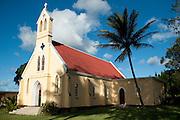 Mauritius. Village Church. village of Olivia.