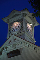 The Sapporo clock tower or Tokeidai is a wooden structure of American design and is the symbol of the city and is a main feature of almost all domestic and international tours of Sapporo. The clock continues to run and keep time, and the chimes can be heard every hour.  The tower was built in 1878, and is all that remains of the former Sapporo Agricultural College - the origins of Hokkaido University.  The building was one of the earliest to be built in this city.