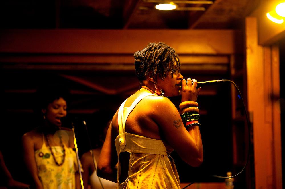 Tamika Love Jones on the main stage