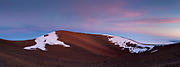 Maunakea summit at sunset, Hawaii