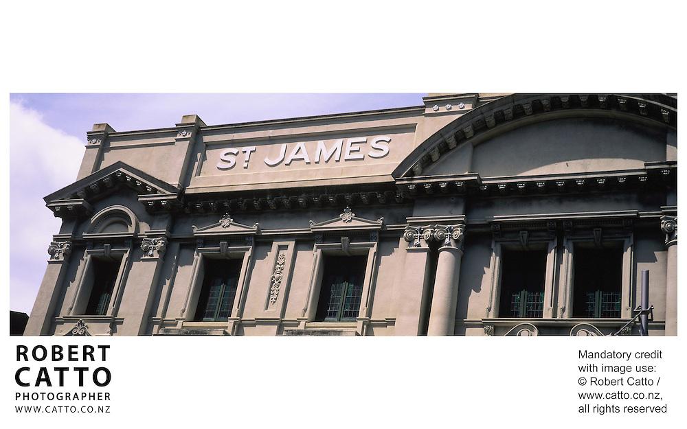 at St James Theatre, Wellington, New Zealand.