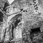 14th Century Cistercian Abbey on Clare Island, western Ireland.