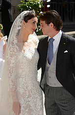 SEP 21 2013 Wedding Of Prince Felix Of Luxembourg & Claire Lademacher
