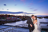 Frances & Tyler's evening Cambridge Mill wedding