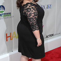 Nikki Blonsky attends the Baltimore Premiiere of the new movie Hairspray