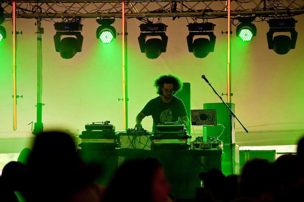 JonH of Fort Knox Five, Camp Bisco, Indian Lookout Country Club, Albany, NY, 7/17/09