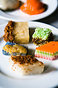 Assorted rice/coconut based sweets