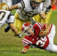 5A-1 Arizona State Football Championship between Brophy Prep and Desert Vista Thunder  on December 8, 2007, University of Phoenix Stadium, Glendale, AZ.  Brophy won  34-21.
