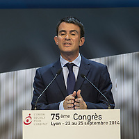 Manuel Valls at the 75th Congres de l'Union Sociale
