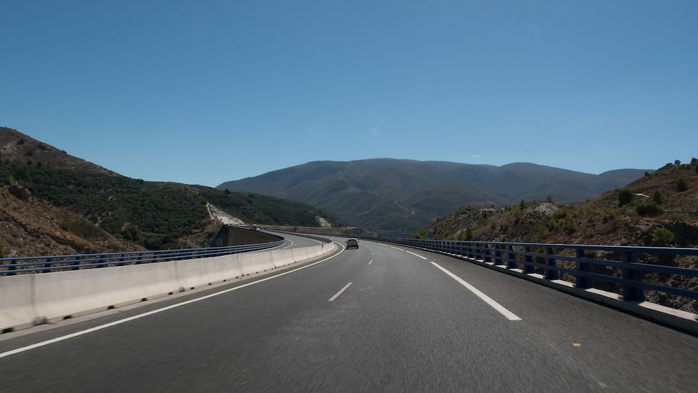 The Autovía A-7 starts in La Jonquera, near the French frontier and ends in Algeciras. It was finally finished in late 2015 upon completion of sections west of Almeria and around Motril, and is the longest national motorway in Europe.