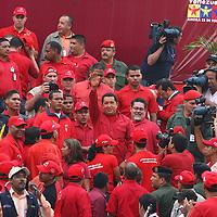 Presidente venezolano, Hugo Chavez. Caracas,13-04-2007 (ivan gonzalez)