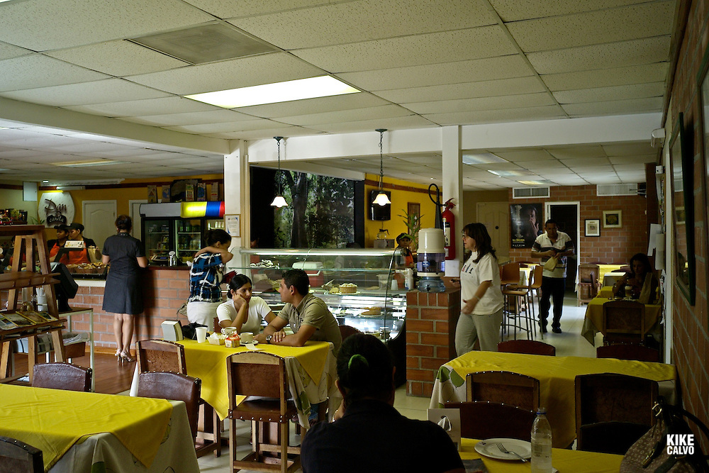 Pan y Canela Colombian Cafe. The City of Knowledge.