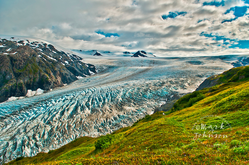 Harding Icefield & the Exit Glacier, Kenai Fjords National Park, Seward, Alaska
