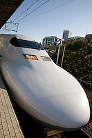 "Japan's main island of Honshu is covered by a network of high speed train lines that connect Tokyo with most of the island's major cities. Japan's ""bullet trains"" are officially called the ""shinkansen"" short for New Kansai Line and are operated by Japan Railways or JR."