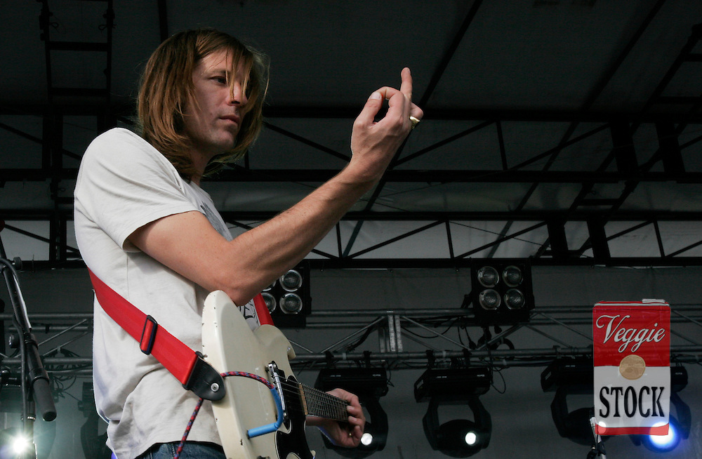 Evan Dando from American band the Lemonheads performs at the Great Escape music festival in Sydney, Sunday, April 8, 2007. The festival is in its second year and runs over the Easter long weekend. (credit: Megan Young)