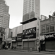 Old school store Atlantis Great City of Hip Hop storefront closes for good in the old section of Downtown Brooklyn to make way for the new wave of gentrification.