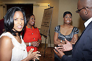 l to r:  Michelle Ebanks, Crystal Worthem, Angela Burt-Murray, and Earl Lucas and at The Freedom's Sisters Luncheon sponsored by Ford Motors at The 2009 Essence Music Festival held at The New Orleans Marriott Convention Center on July 2, 2009 in New Orleans, Louisiana