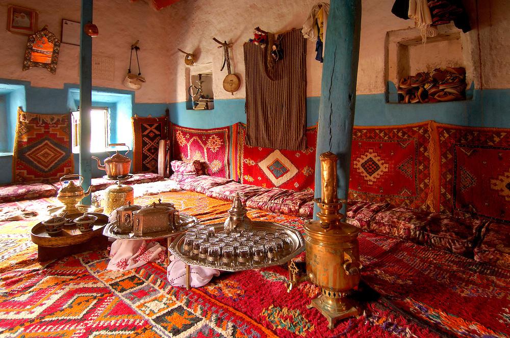 La Maison Traditionelle, Oumesnate, Ameln Valley near Tafraoute, Morocco