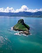 Chinaman's Hat, Kaneohe Bay, Kaneohe, Oahu, Hawaii, USA<br />