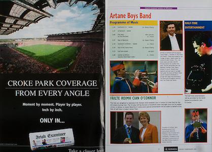All Ireland Senior Hurling Championship Final,.12.09.2004, 09.12.2004, 12th September 2004,.Senior Cork 0-7, Kilkenny 0-9,.Minor Kilkenny 1-18 ,  Galway 3-12 (draw),.12092004AISHCF,.Irish Examiner,